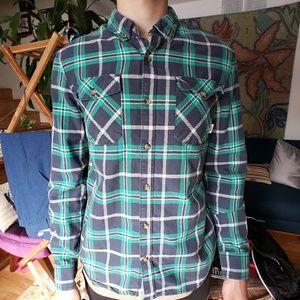 Van's button-up shirt - mens medium